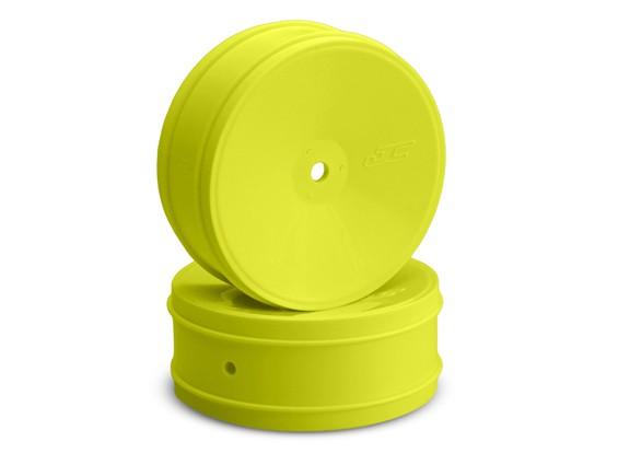 JCONCEPTS子弹1/10越野12毫米六角前轮 - 黄色
