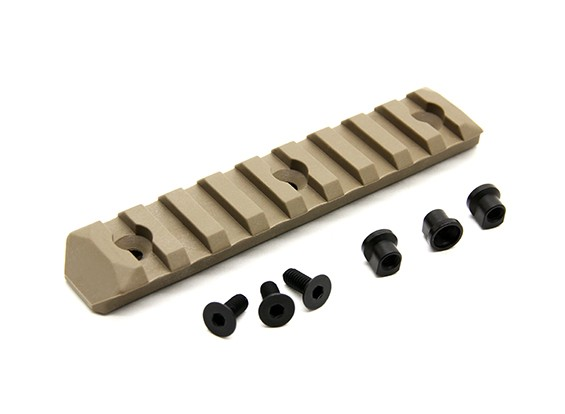 PTS增强铁路第Keymod 9插槽(暗地球)