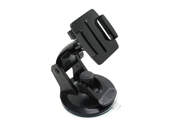 挡风玻璃吸盘车载装置动作凸轮/ GoPro的相机
