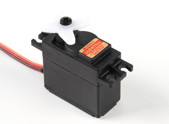 JR DS8411HV高电压数字伺服与金属齿轮60克/17.3公斤/ 0.15秒