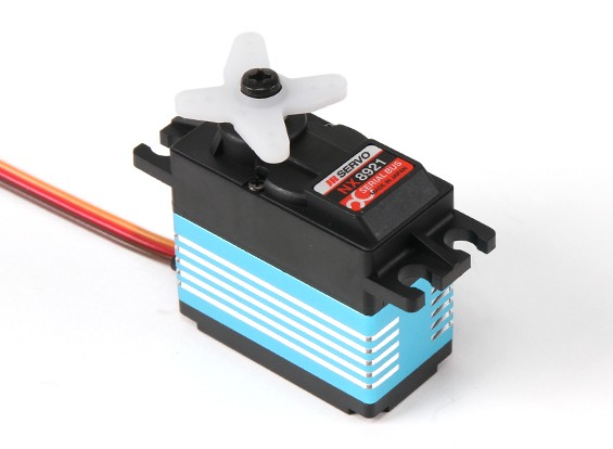 JR NX8921宽电压可编程的超高扭矩金属齿轮伺服36.5千克/ 0.13sec /72克