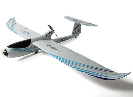 HobbyKing®™云冲浪EPO FPV滑翔机瓦特/襟翼2000毫米(P&P)