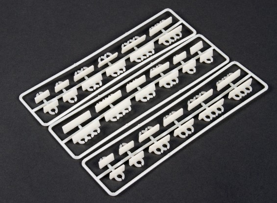 水平安装排线整齐夹套装(36件)