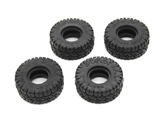 大块轮胎(4件) -  OH35P01 1/35攀岩车套件