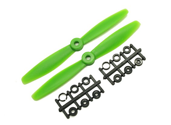 Gemfan牛鼻BN6045螺旋桨顺时针/逆时针套装(绿色)6×4.5