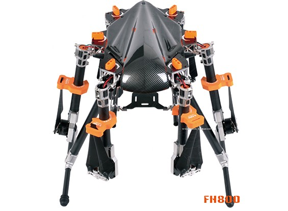 KongCopter FH800临六配直升机(PNF)