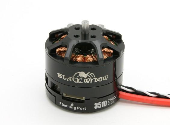 黑寡妇3510-770Kv带有内置ESC顺时针/逆时针