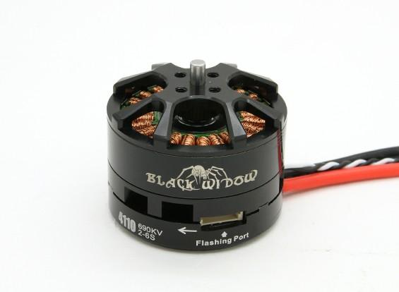黑寡妇4110-690Kv带有内置ESC顺时针/逆时针
