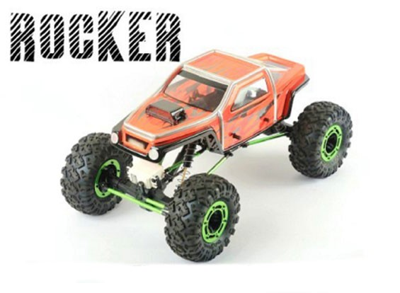 BLITZ ROCKER 1/10岩石履带卡车EP机身外壳(1.0毫米)