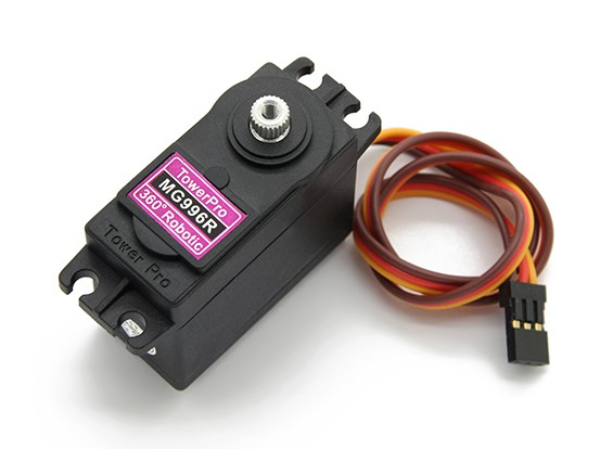 Towerpro MG996R 360°机器人伺服11千克/ 0.015sec /55克