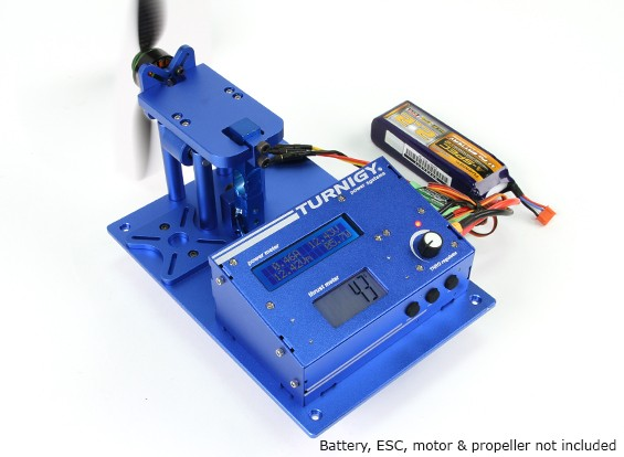 Turnigy推力支架和电源分析仪V2