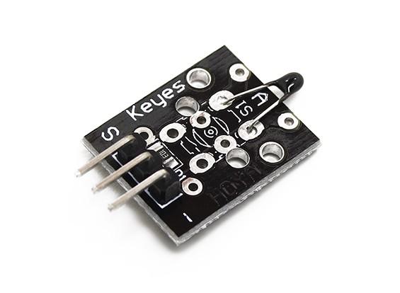 凯斯模拟温度传感器模块的Arduino