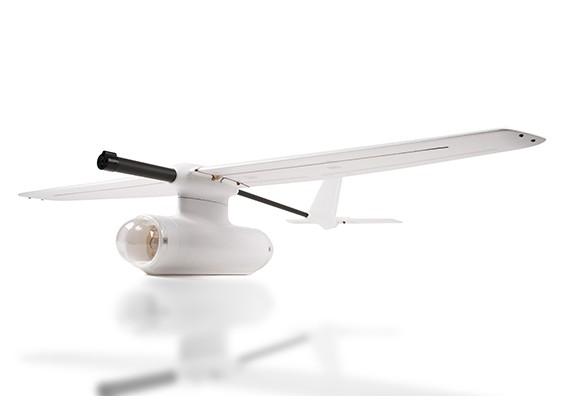 泽塔空观测FPV平面碳纤维/ EPO2000毫米白色(套件)
