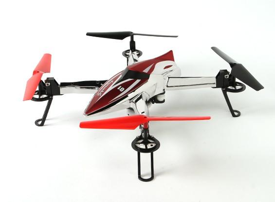 WLtoys Q212G飞船FPV四轴飞行器W / 5.8GHz的高清摄像机和高清显示器RTF(模式2)