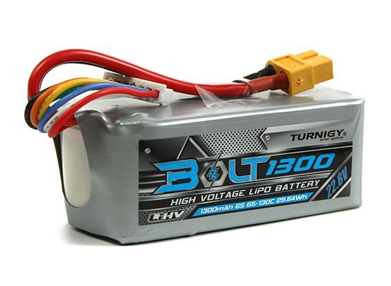 Turnigy博尔特1300mAh的6S 22.8V 65〜130℃的高压Lipoly包(LiHV)