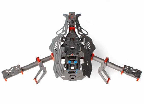 蚊子Y400400毫米3轴光纤Tricopter帧(Y6 CONFIG)