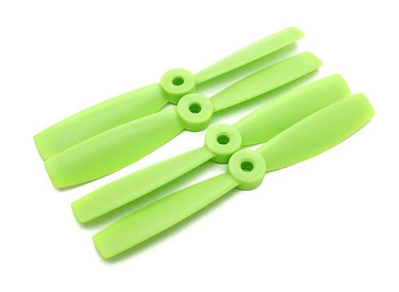 公牛的Diatone鼻子整形螺旋桨5×4.5(CW / CCW)(绿色)(2对)