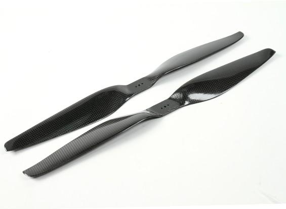 DYNAM 18x5.5碳纤维螺旋桨的多轴飞行器(顺时针和逆时针)(1对)