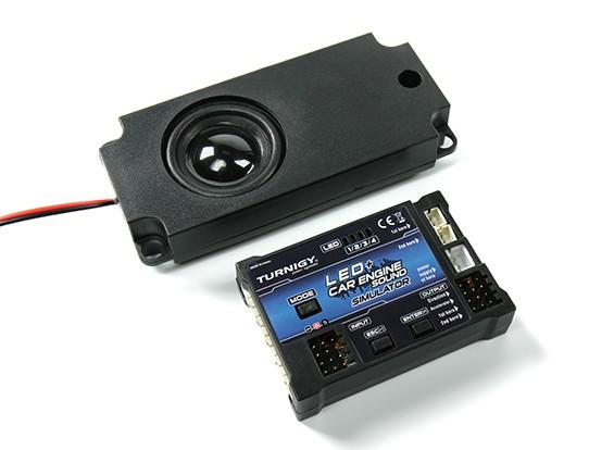 Turnigy LED与汽车发动机的声音系统