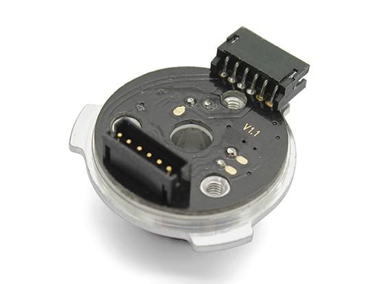TrackStar V2更换电动机传感器,轴承组(9.5T-21.5T)