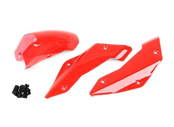 塔罗牌TL250 / TL280时间和空间通过鼻子盖(红)