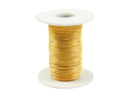 芳纶螺纹直径0.4毫米黄