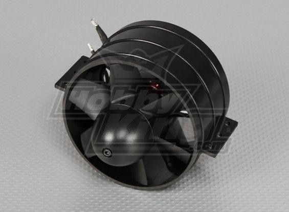 EDF-90MM完成与36毫米外转子无刷电机1600kv