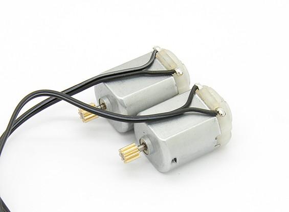 130有刷电机(2个) - 锤RockSta 1/24四轮转向小型履带式摇滚