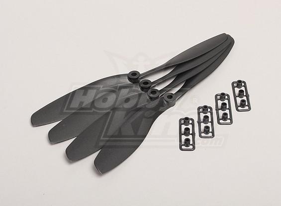 GWS风格Slowfly螺旋桨8x4.5黑色(CW)(4件)