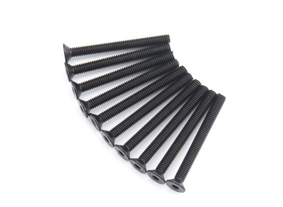 金属平头六角螺丝M4x40-10pcs /套
