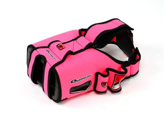 Quanum DIY FPV护目镜V2Pro升级手套(粉红色)