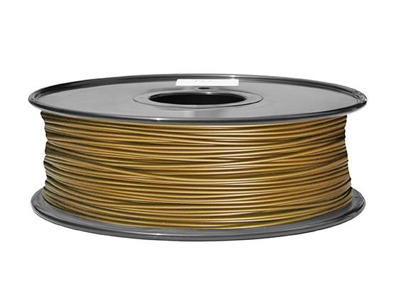 HobbyKing 3D打印机长丝1.75毫米解放军1KG阀芯(黄色)