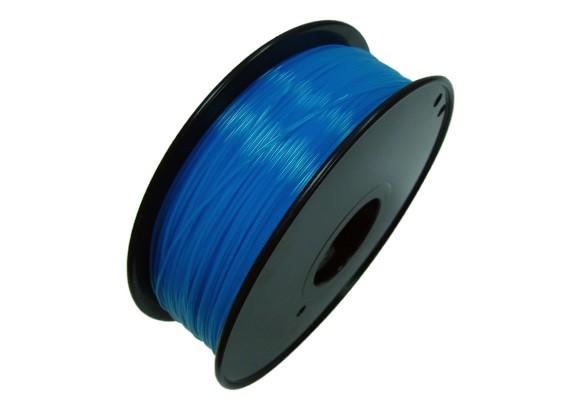 HobbyKing 3D打印机长丝1.75毫米解放军1KG阀芯(荧光蓝)