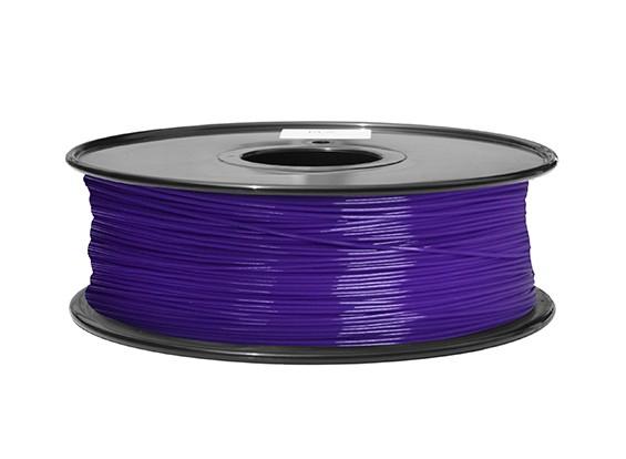 HobbyKing 3D打印机长丝1.75毫米ABS 1KG阀芯(紫色P.2617C)