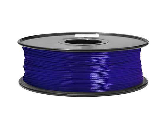 HobbyKing 3D打印机长丝1.75毫米ABS 1KG阀芯(蓝P.2746C)