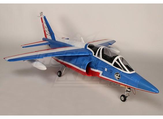 达索战斗机阿尔法90毫米涵道风扇EPO插件正飞(蓝)