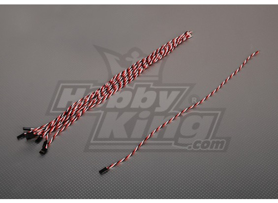 45厘米男22AWG双绞线(10片/袋)