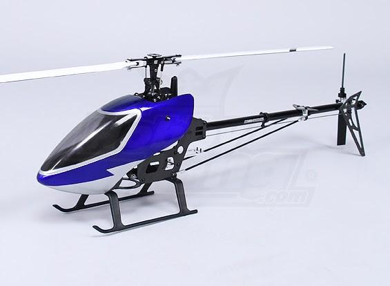 HK-450TT PRO V2无副翼3D扭矩管直升机套件(对齐暴龙COMPAT)。
