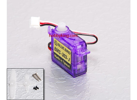 BMS-303-JST超微型伺服0.7公斤/ .11sec /3.4克