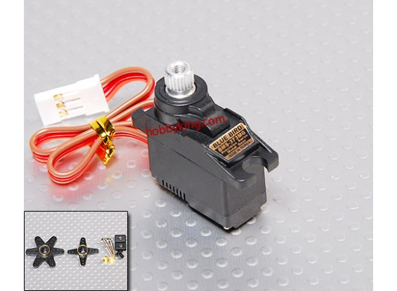 BMS-373MG微型伺服(合金装备)1.6公斤/ .13sec /11.4克