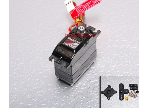 BMS-620MG高扭矩伺服(合金装备)9.1千克/ .15sec /50克