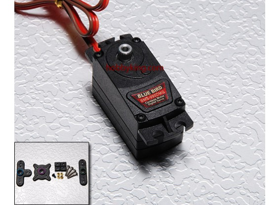 BMS-990DMG低异形空心杯电机数字伺服(全金属齿轮)9.0公斤/ .09sec /45克