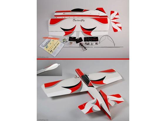 蝴蝶3D超轻3D 95%ARF W /马达和ESC