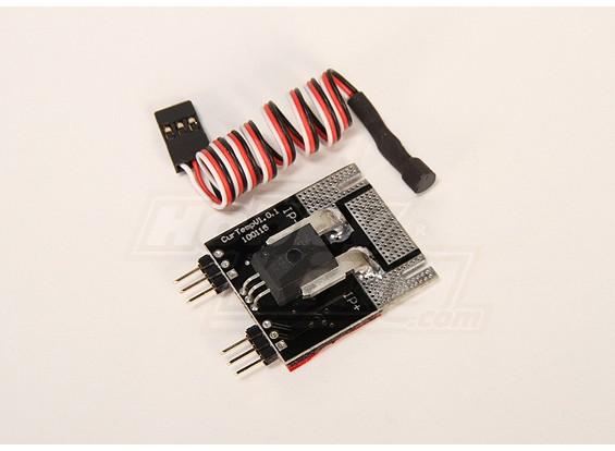 Quanum 2.4GHz的遥测系统温度/ AMP加载项