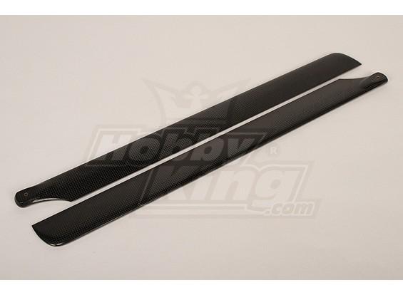 600毫米Turnigy碳纤维主叶片