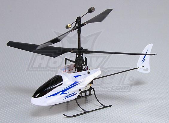 2.4GHz的微型同轴电缆直升机4通道(RTF  - 双模TX)