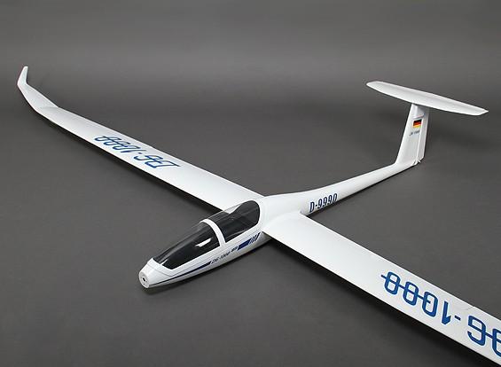 DG-1000玻璃纤维EP规模滑翔机2650毫米(ARF)