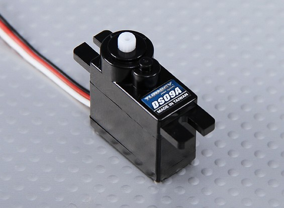 Turnigy DS09A 5V模拟电源伺服1.5公斤/ 0.10s /10.8克