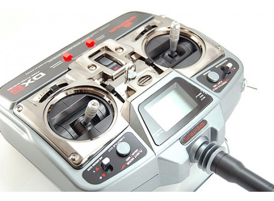 SPEKTRUM DX6 W / AR6000 / BATT / 4xServo(模式1)