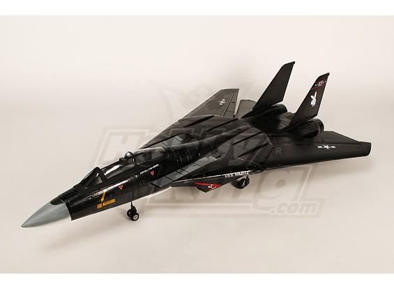 F-14花花公子折叠翼喷气W /双床60毫米EDF套件